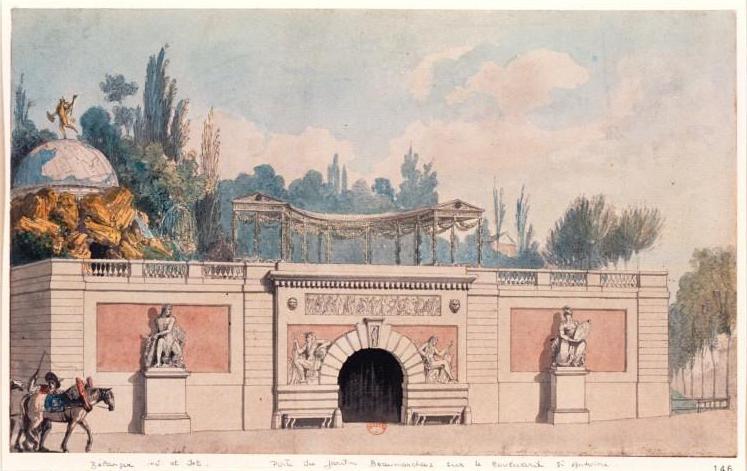 Du xviiie au xxe si cles atlas historique de paris for Le jardin moghol 53 rue vieille du temple
