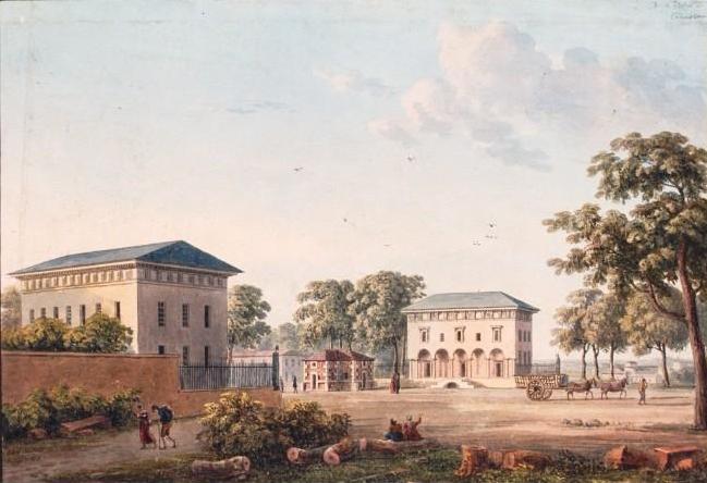 Les enceintes apr s 1790 atlas historique de paris for Piscine montparnasse