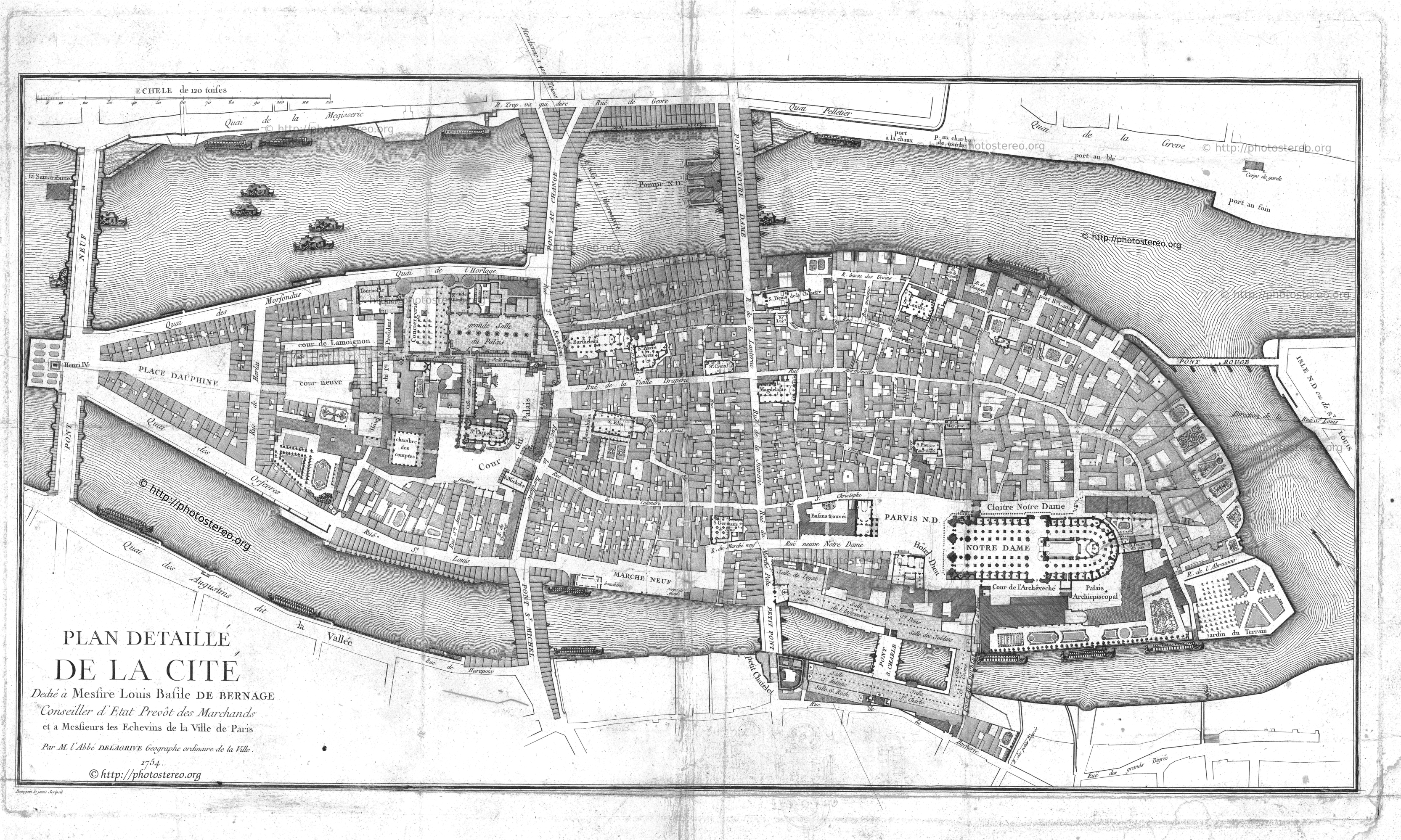 L 39 le de la cit atlas historique de paris for Plan du site de la maison