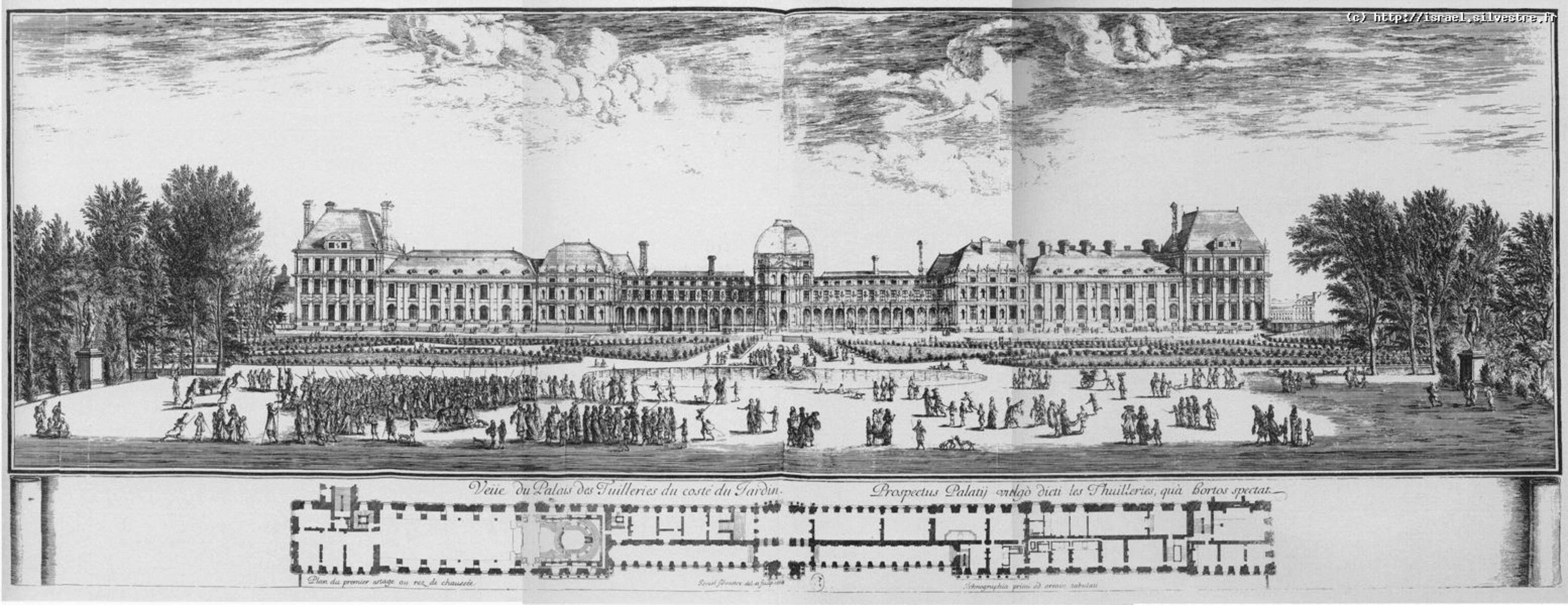 Le Louvre Et Les Tuileries Atlas Historique De Paris
