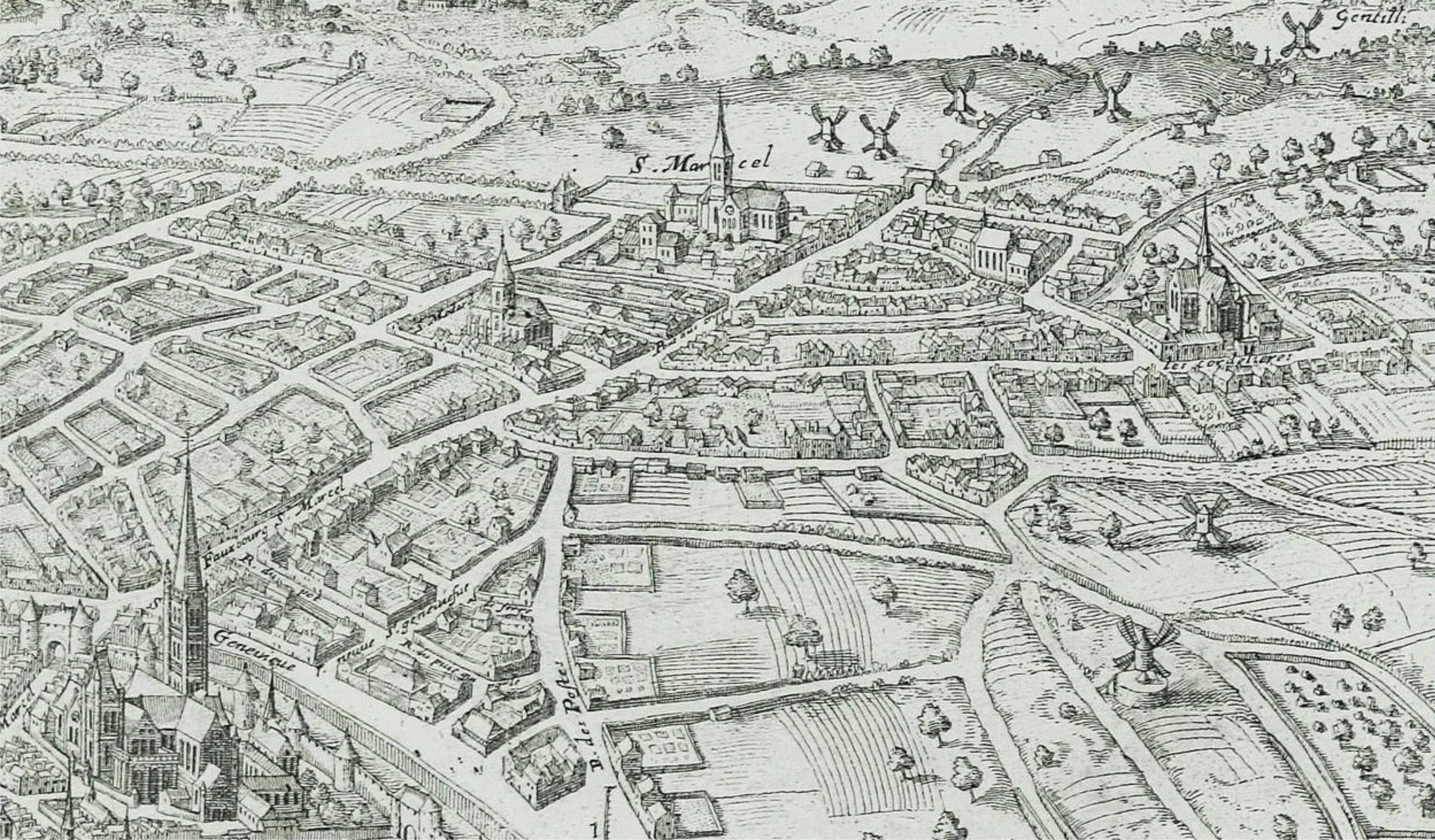 Le bourg saint marcel atlas historique de paris - Piscine de saint marcel ...