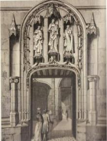 L 39 eglise au moyen age atlas historique de paris - Mise a la porte du couvent ...