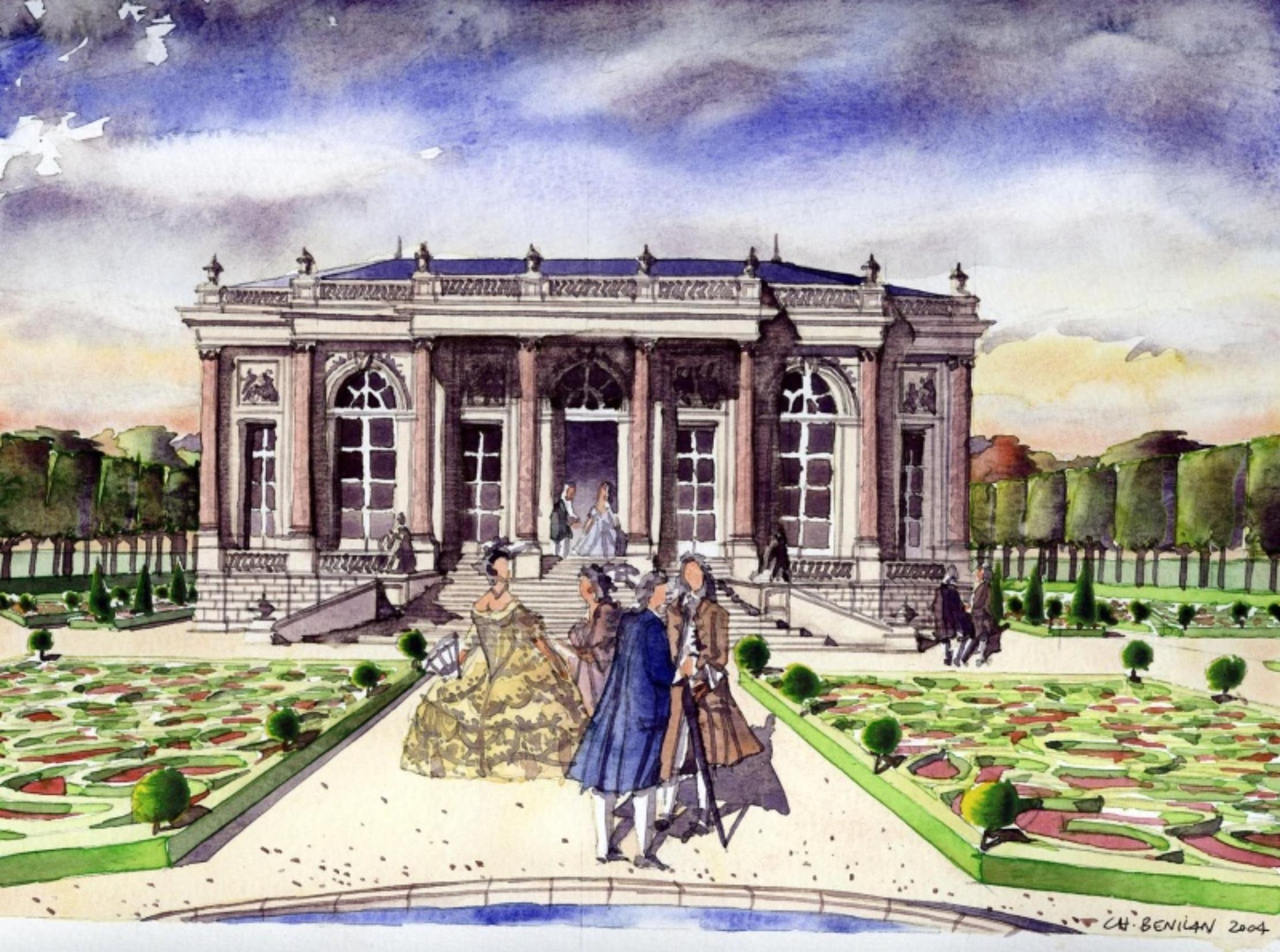 Les folies au xviiie atlas historique de paris for Jardin xviiie siecle