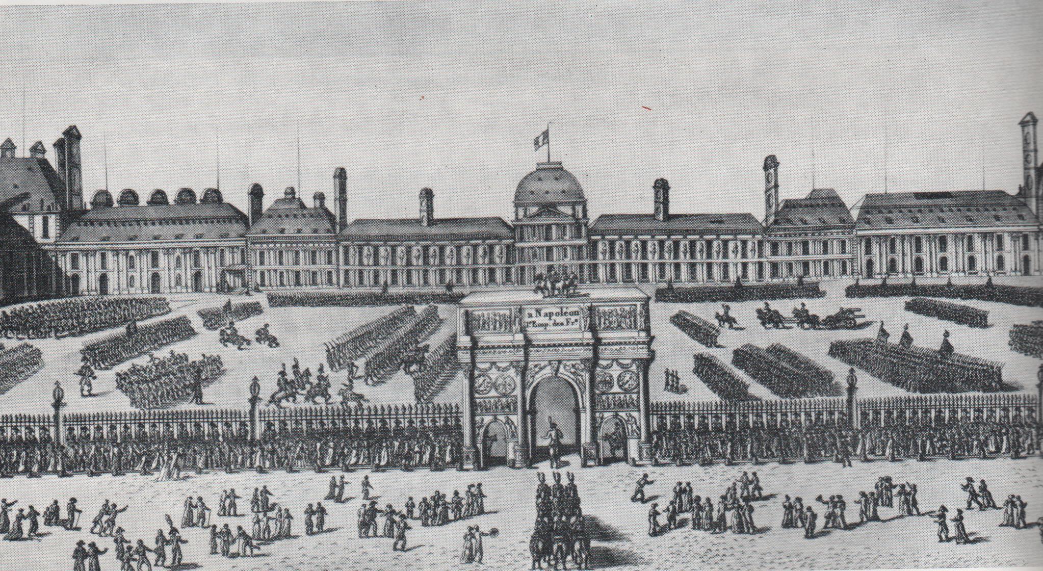 Le louvre et les tuileries atlas historique de paris for Au jardin du port le palais